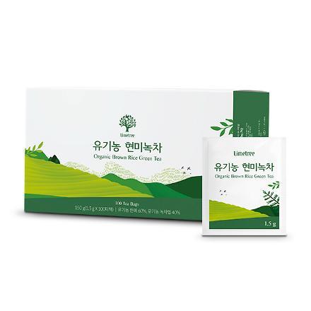 라임트리 유기농 현미녹차(100티백)