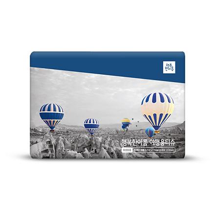 행복한아름 여행용티슈(50매 X 40개입, 배달주문전용)