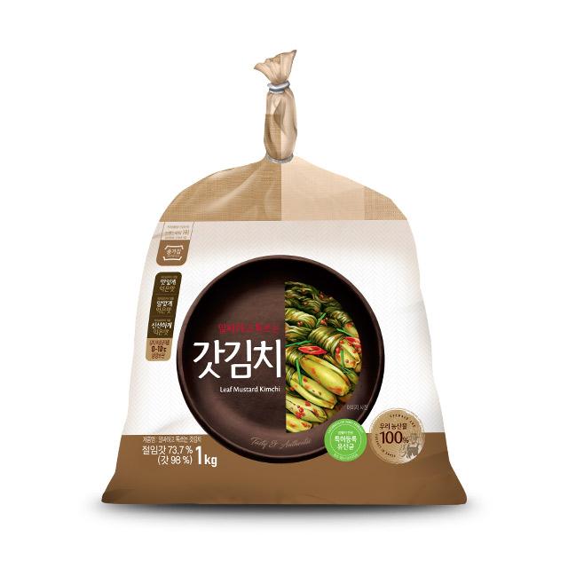 종가집 갓김치 1kg (암웨이 전용)
