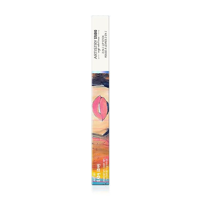 아티스트리 스튜디오 뉴욕 에디션 투인원 립스틱 - 피프스에비뉴 푸시아