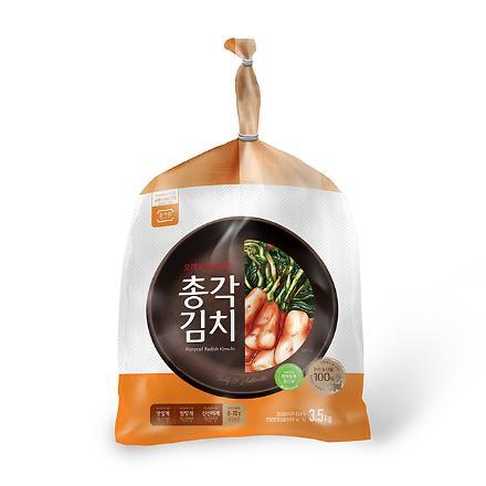 종가집 총각김치 3.5kg (암웨이 전용)