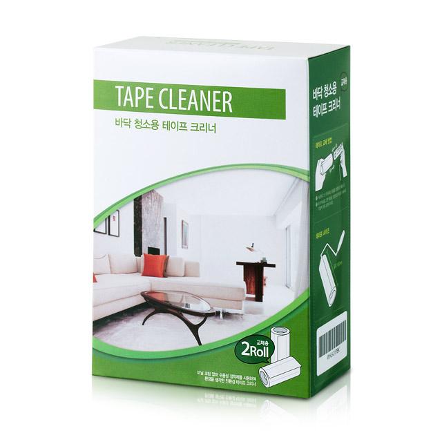 바닥 청소용 테이프 크리너 교체용 (2롤)
