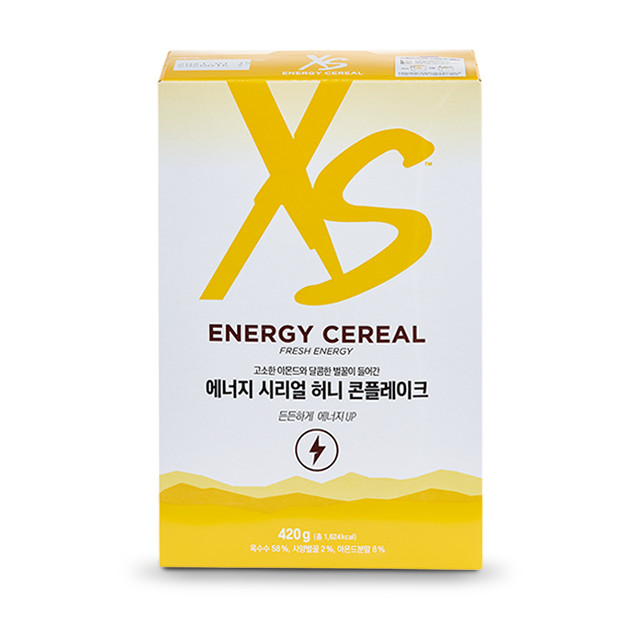 XS 에너지 시리얼 허니 콘플레이크