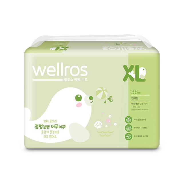 웰로스 베베 수트 XL(38매)