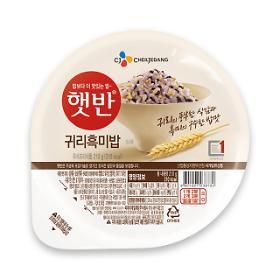 CJ햇반 귀리흑미밥 (배달판매전용)