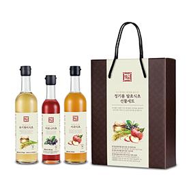 정기품 발효식초 선물세트