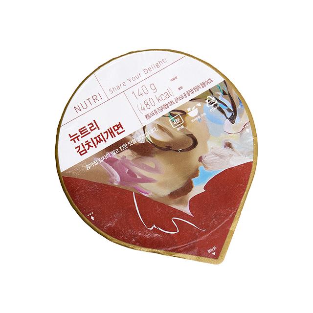 뉴트리 김치찌개면 (16개입) (3박스 번들 주문)